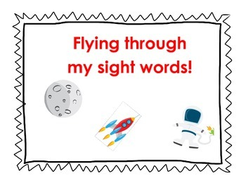 Space Sight Words Data Wall
