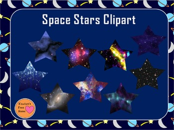 Space Stars Clipart