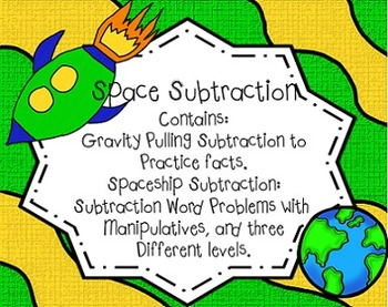 Space Subtraction Common Core Aligned