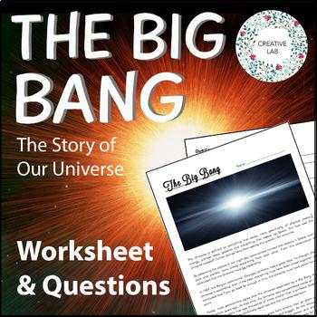Space - The Big Bang - Intermediate Lesson