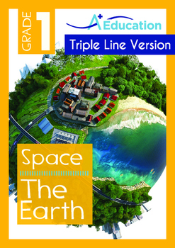 Space - The Earth (I) - Grade 1 (with 'Triple-Track Writin