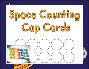 Space Theme Counting Caps