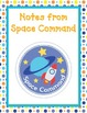 """Space Theme """"While You Were Gone"""" Absent Work Folder"""
