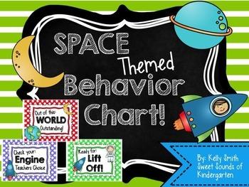 Space Themed Behavior Chart!