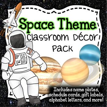 Space-Themed Classroom Pack - Realistic!