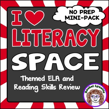 Space Themed ELA and Reading Skills Review Mini-Pack - Mor