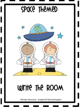 Space Themed Write the Room