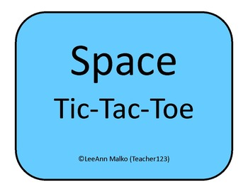 Space Tic-Tac-Toe