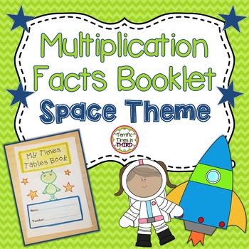 Space Multiplication Facts Booklet
