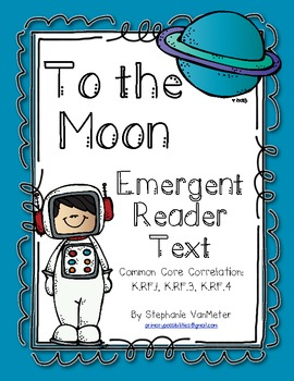 Space (To the Moon) Emergent Reader