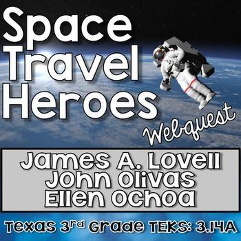Space Travel Heroes [Ochoa, Lovell, and Olivas]