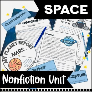 Space Unit: Common Core Aligned