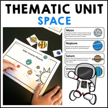 STEM Space Reading Comprehension, Flip Book, Vocabulary &