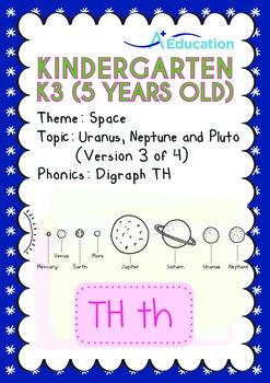 Space - Uranus, Neptune & Pluto (III): Digraph TH - Kinder