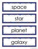 Space Vocab Flashcards