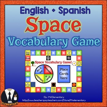 Space Vocabulary Game