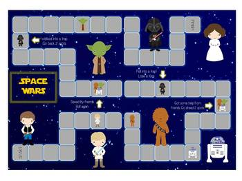 Space Wars Math Folder Game - Common Core - Telling Time H