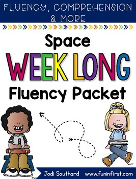 Space Week Long Fluency Packet - Week 2 of April Packet