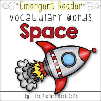 Space Words I Know Emergent Reader