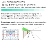Space and Perspective in Visual Arts