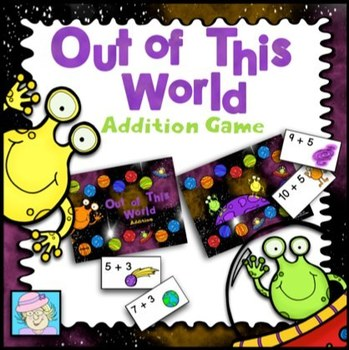 Space-themed Board Game:  Out of This World Addition