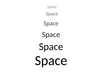 Space/Perspective PP