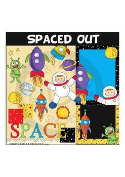 Spaced Out Clipart Collection COMMERCIAL USE OK