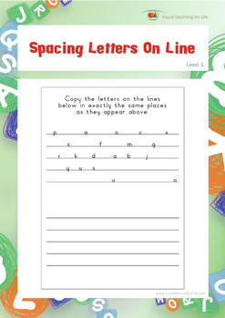 Spacing Letters on Lines