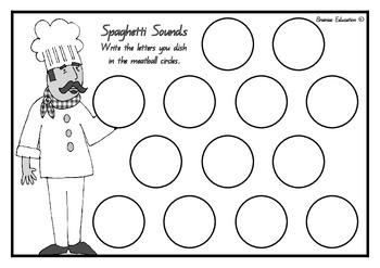 Spaghetti Sounds Alphabet Game