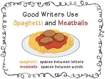 Spaghetti and Meatball Spaces - poster