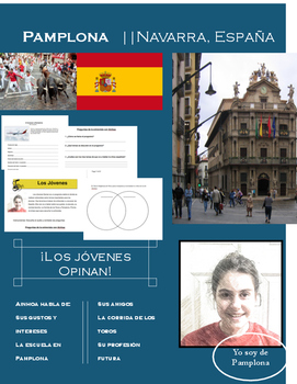 Spain Bullfighting Listening and Question Activity