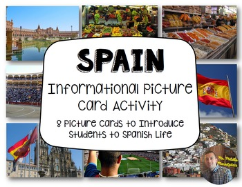 Spain Informational Picture Card Activity: Communities of