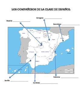 Spain Partner Map