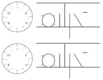 Spalding Clockface Desk Template