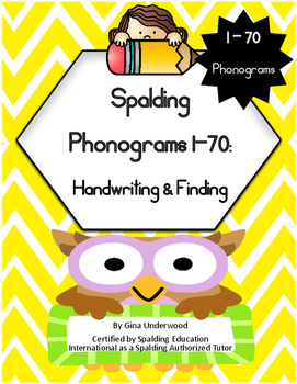 Spalding Phonogram Handwriting and Finding