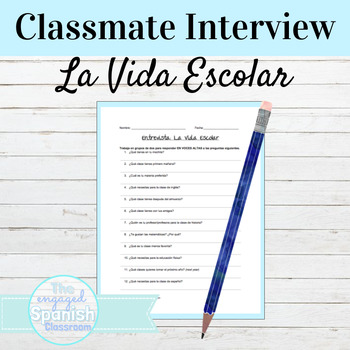 Spanish 1 Speaking and Writing Interview: School Supplies