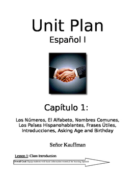 Spanish 1 Expresate 1 entire year lessons and resources (C