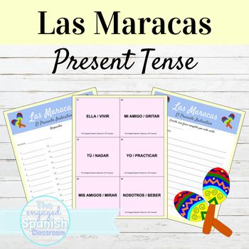 Spanish Present Tense, El Presente -AR -ER and -IR verbs: