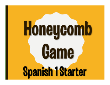 Spanish 1 Starter Honeycomb Game