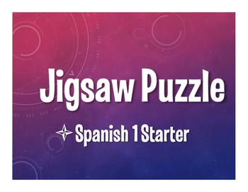 Spanish 1 Starter Jigsaw Puzzle