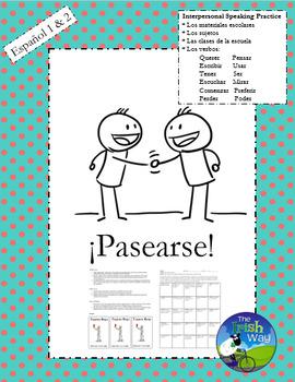 Interpersonal Speaking Practice - Los Útiles Escolares - S