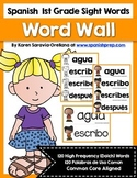 Spanish Sight Words Word Wall (1st Grade)