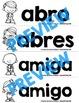 Spanish Sight Words Word Wall (1st Grade)