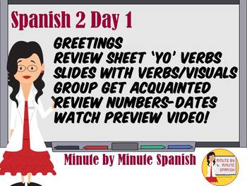 Spanish 2 - Day 1 Daily Tech Guide