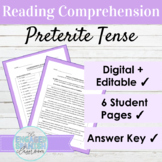 Spanish Reading Comprehension: Preterite Tense, El Pretérito