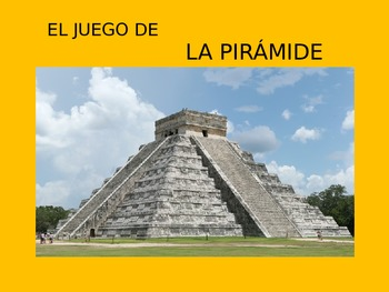 Spanish $20,000 Pyramid Game For Vocabulary
