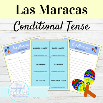 Spanish Conditional Tense / El Condicional: Maracas Conjug