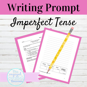 Spanish 3 Imperfect Tense Writing Prompt: Childhood and Li