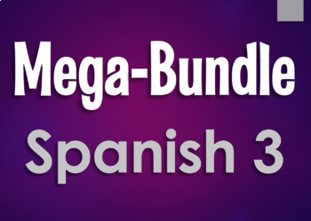 Spanish 3 Mega-Bundle