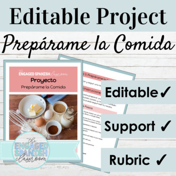Spanish 3 Mini Project: Informal Commands with food preparation